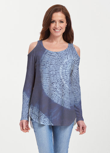 Dandelion Dream (14169) ~ Butterknit Cold Shoulder Tunic