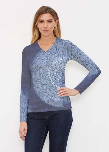 Dandelion Dream (14169) ~ Butterknit Long Sleeve V-Neck Top
