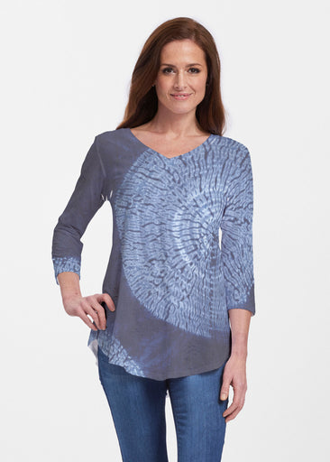 Dandelion Dream (14169) ~ V-neck Flowy Tunic