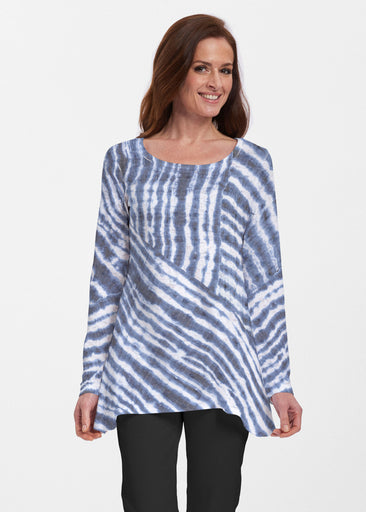 Tie-Dye Ripple (14183) ~ Abigail Thermal Tunic
