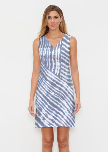 Tie-Dye Ripple (14183) ~ Classic Sleeveless Dress