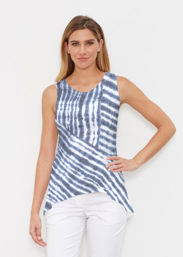 Tie-Dye Ripple (14183) ~ Signature High-low Tank