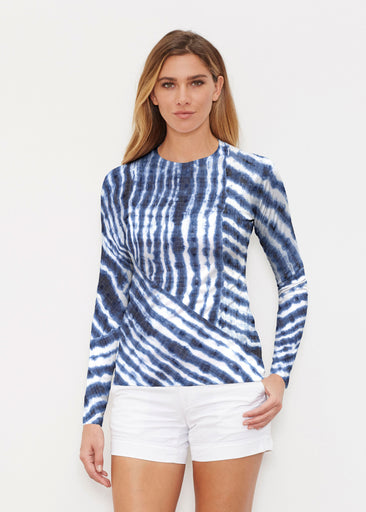 Tie-Dye Ripple (14183) ~ Long Sleeve Rash Guard