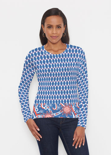 Mod Dot RWB (14195) ~ Signature Long Sleeve Crew Shirt