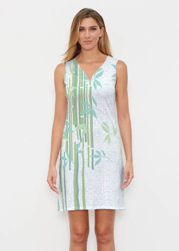 Bamboo Leaves (14197) ~ Classic Sleeveless Dress