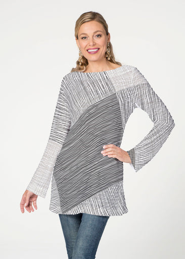 Sketch (14205) ~ Banded Boatneck Tunic