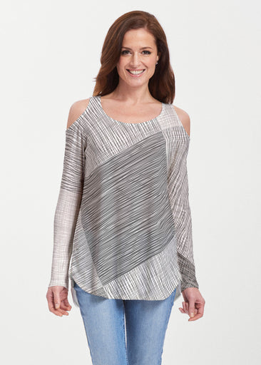 Sketch (14205) ~ Butterknit Cold Shoulder Tunic