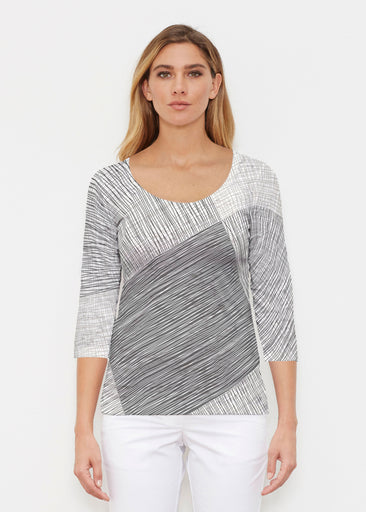 Sketch (14205) ~ Signature 3/4 Sleeve Scoop Shirt