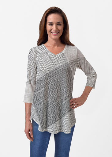 Sketch (14205) ~ Butterknit V-neck Flowy Tunic