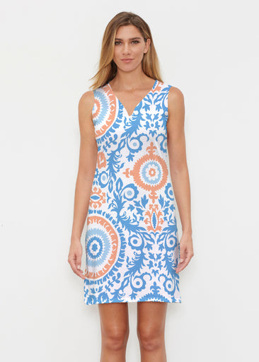 Archery Navy (14208) ~ Classic Sleeveless Dress