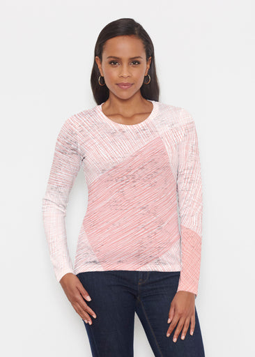 Sketch Coral (14213) ~ Signature Long Sleeve Crew Shirt