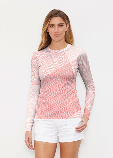 Sketch Coral (14213) ~ Long Sleeve Rash Guard