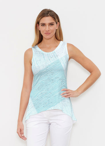Sketch Aqua (14214) ~ High-low Tank