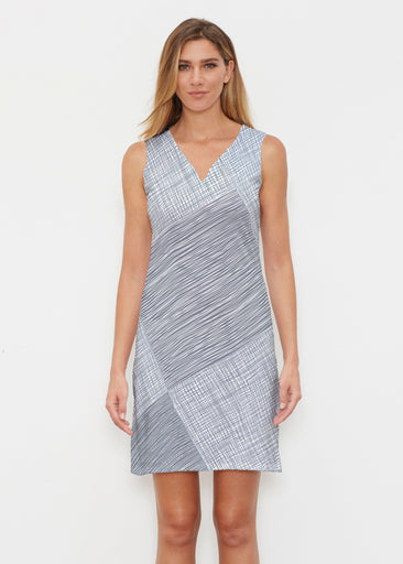 Sketch Blue (14216) ~ Classic Sleeveless Dress