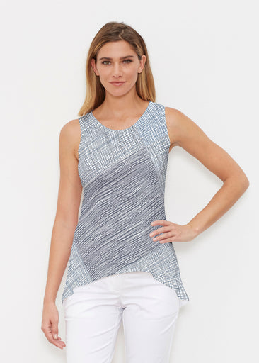 Sketch Blue (14216) ~ High-low Tank