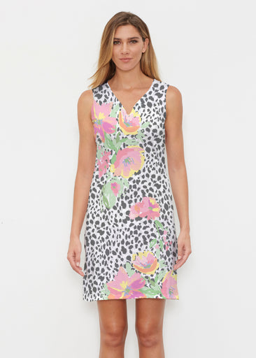 Spring Leopard (14225) ~ Classic Sleeveless Dress