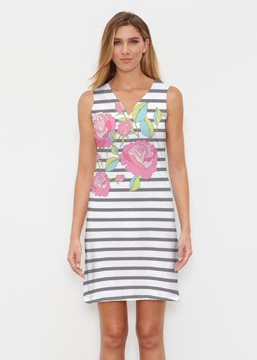 Rosie Stripe (14226) ~ Classic Sleeveless Dress