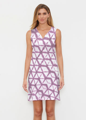 Tie Dye Web (14228) ~ Classic Sleeveless Dress