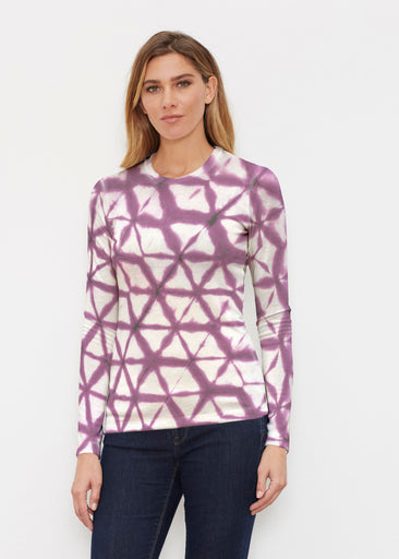 Tie Dye Web (14228) ~ Butterknit Long Sleeve Crew Top