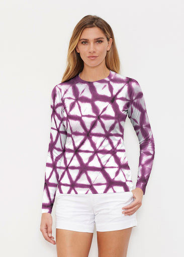 Tie Dye Web (14228) ~ Long Sleeve Rash Guard