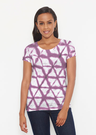 Tie Dye Web (14228) ~ Signature Short Sleeve Scoop Shirt