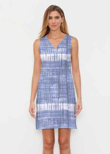 Denim Tie Dye (14230) ~ Classic Sleeveless Dress
