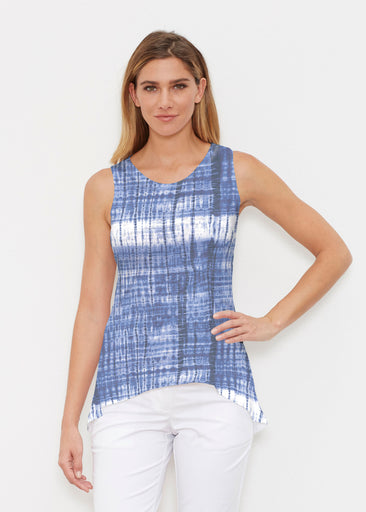 Denim Tie Dye (14230) ~ Signature High-low Tank
