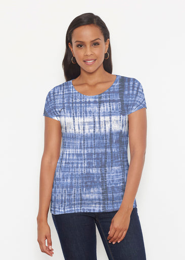 Denim Tie Dye (14230) ~ Signature Short Sleeve Scoop Shirt