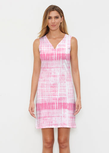 Pink Tie Dye (14254) ~ Classic Sleeveless Dress