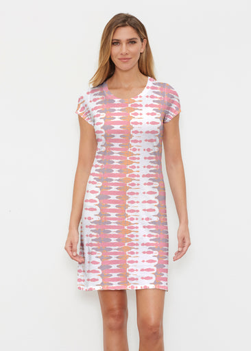 Ink Blot Pink (14255) ~ Classic Crew Dress