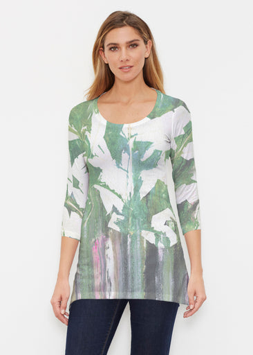 Renewal Green (15005) ~ Buttersoft 3/4 Sleeve Tunic