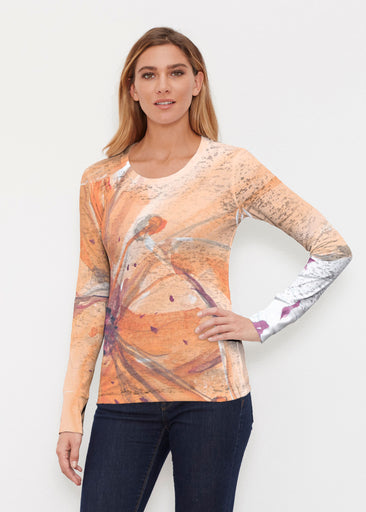 Tiger Lily (15021) ~ Thermal Long Sleeve Crew Shirt