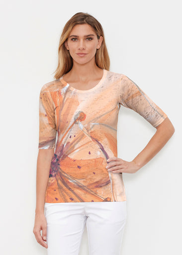 Tiger Lily (15021) ~ Signature Elbow Sleeve Crew Shirt
