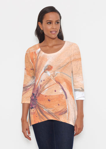 Tiger Lily (15021) ~ Katherine Hi-Lo Thermal Tunic
