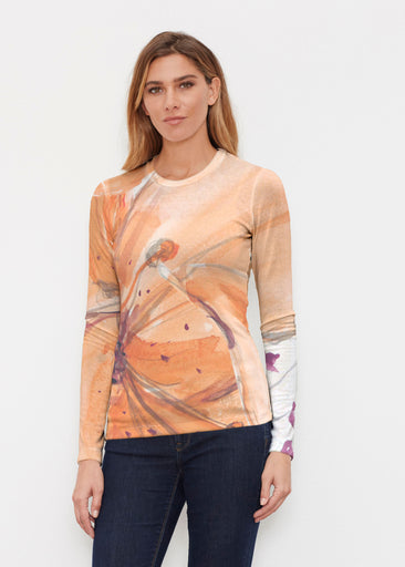 Tiger Lily (15021) ~ Butterknit Long Sleeve Crew Top
