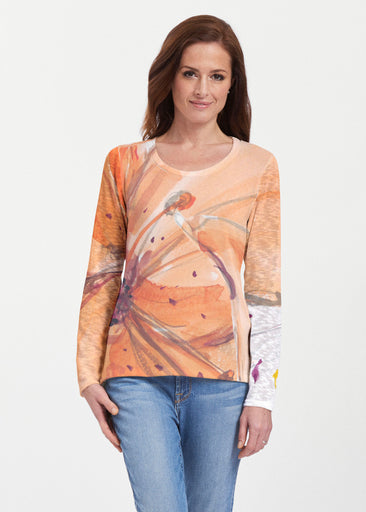 Tiger Lily (15021) ~ Texture Mix Long Sleeve