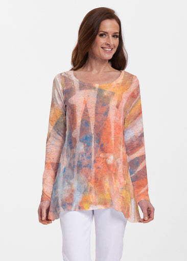 Tiki Orange (15039) ~ Abigail Thermal Tunic