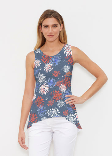 Red Glare Navy (16138) ~ High-low Tank