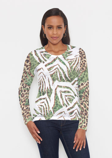 Lush Jaguar (16151) ~ Signature Long Sleeve Crew Shirt