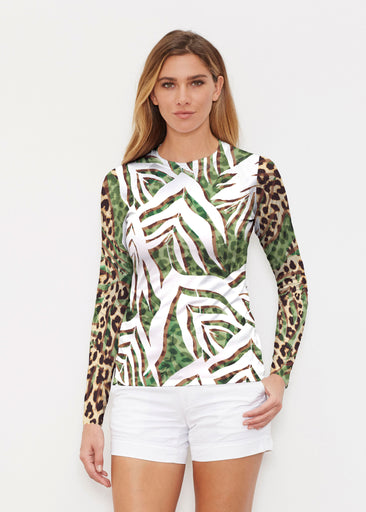 Lush Jaguar (16151) ~ Long Sleeve Rash Guard