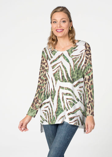 Lush Jaguar (16151) Slouchy Butterknit Top