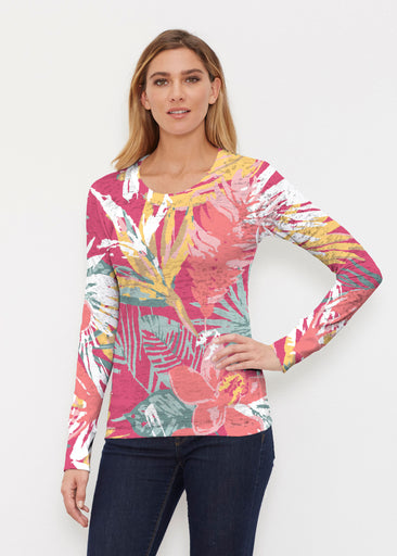Havana (16152) ~ Thermal Long Sleeve Crew Shirt