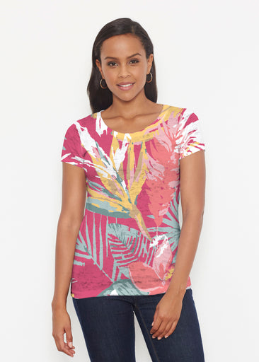 Havana (16152) ~ Short Sleeve Scoop Shirt