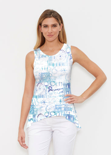 Ferris Wheel Blue (16186) ~ Signature High-low Tank