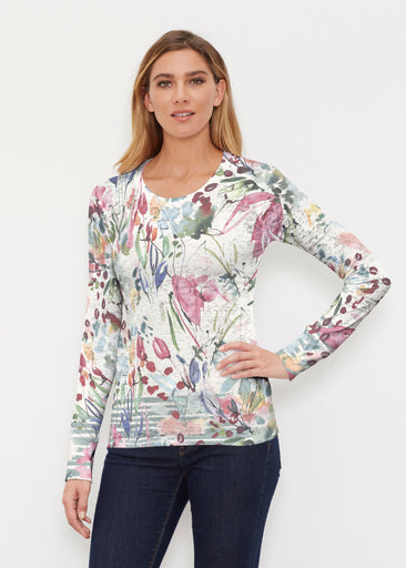 Rhapsody (16191) ~ Thermal Long Sleeve Crew Shirt