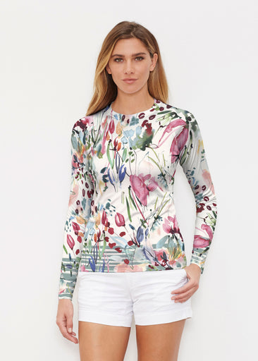 Rhapsody (16191) ~ Long Sleeve Rash Guard