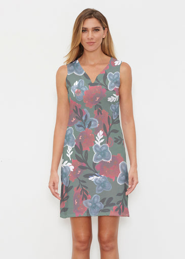 Heirloom Green (17005) ~ Classic Sleeveless Dress