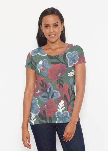 Heirloom Green (17005) ~ Short Sleeve Scoop Shirt
