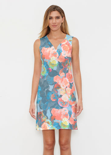 Moonlight Garden (17028) ~ Classic Sleeveless Dress