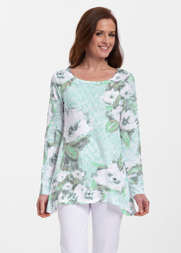 Waterfall Aqua (17074) ~ Abigail Thermal Tunic